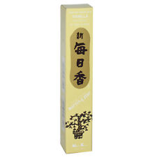 Vanilla Morning Star Traditional Japanese Incense Includes 50 Sticks & Holder