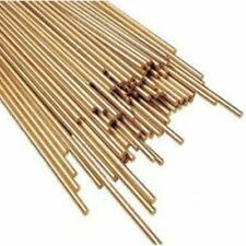 SUPER 6 7469 2.4mm MULTIUSO sillicon Bronzo GAS Brasatura Bacchette x 10 (500mm)