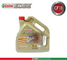 4 LT OLIO MOTORE CASTROL EDGE 5W30 FST  TAGLIANDO LONGLIFE (LL) VW 504.00 507.00