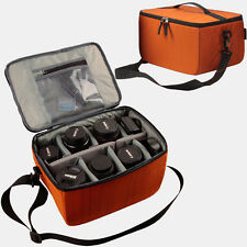 Large Waterproof DSLR SLR Camera Shoulder Bag Insert Padded Partition Lens Case