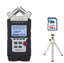 Zoom H4n Pro Handy Recorder + 16GB Card + Tripod
