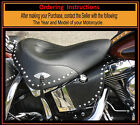 Harley Saddle Shield Softail Chrome Studded Mid Frame HEAT Deflectors USA Made