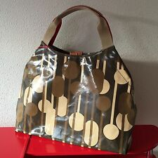 ORLA KIELY REFLECTED TREES CAPPUCINO LARGE SHOULDER BAG HOLDALL BNWOT RARE