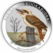 Australia 2016 Kookaburra Berlin World Money Fair Coin Show Special $1 Silver