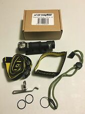 ArmyTek Wizard Pro XM-L2 1200 LED lumen Black/Silver Headlamp Flashlight