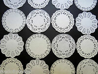 MEGA PACK ASSORTED DINKY PAPER LACE DOILIES* FOR TILDA CARDS x 40