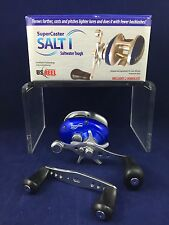 SALE! NEW! U.S. Reel - SuperCaster Salt I - Saltwater - Bait Casting - Boxed