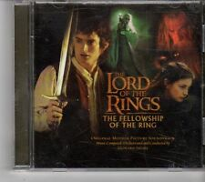 (FH87) The Lord of the Rings, Fellowship of the Ring Soundtrack - 2001 CD