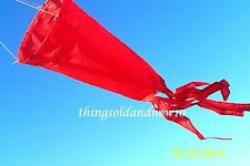 Kite Windsock,Red: Accessory,Family,Outdoor,Beach,Toy,Gift,Wind/Air Indicator