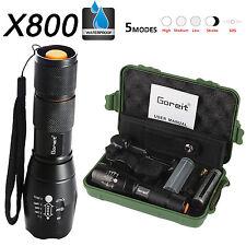 X800 shadowhawk 5000LM lampe de poche Cree T6 LED la tactique torche +batterie