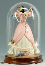 WDCC Cinderella's Dress with Dome- Retired-MINT NIB