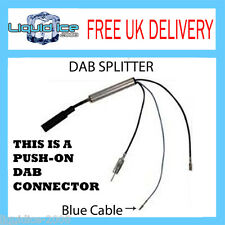 SPLITTER AERIAL ADAPTOR AM FM TO DAB/DAB+/DMB-A COMPATIBLE RADIO CONVERTER CAR