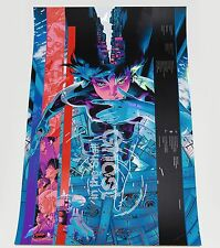Ghost in the Shell FOIL VARIANT by Martin Ansin MONDO Gallery Release