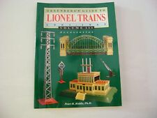 Greenberg's Guide To Lionel Trains 1901-1942 Volume III Acessories