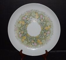"""Noritake Younger Image Bimini 12""""W Round Platter Chop Plate 6923 Easter Ex Cond"""