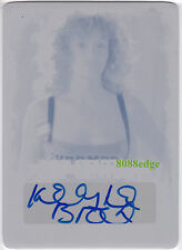 "2015 POP CENTURY PRINT PLATE AUTO: KELLY LeBROCK #1/1 AUTOGRAPH ""WEIRD SCIENCE"""