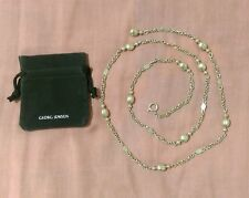 """""""Extremely Rare"""" Georg Jensen sterling silver long necklace"""