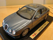 1/18 Jaguar S Type G D C E Rare Ice Blue