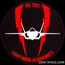 USAF 56th TRAINING SQUADRON - F-35 - LIGHTNING ACADEMICS - ORIGINAL VEL PATCH