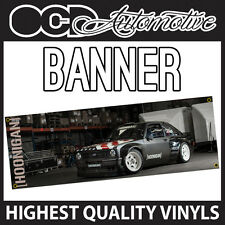KEN BLOCK MK1 FORD ESCORT GARAGE WORKSHOP BEDROOM BANNER HOONIGAN HOON HOONING
