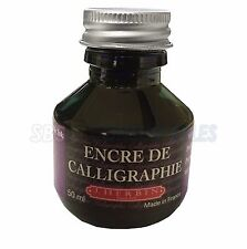 J.Herbin 50ml Bottle Calligraphy Dipping Pen Ink - Purple/Violet Ink 11470T