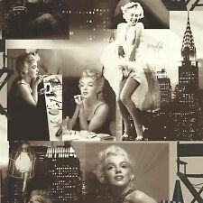 Galerie Marilyn Monroe Black and White Luxury Designer  Wallpaper - 12101209