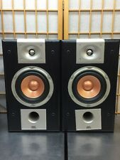 JBL S26 Studio Series 150 Watt Bookshelf Audiophile Speakers, NO GRILLS.