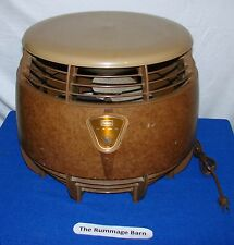 vintage SEARS Model 317.80250 FLOOR Hassock ELECTRIC FAN --- 3 SPEED FAN