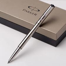 Silver Metal Parker Vector Rollerball Pen 0.5mm nib Full metal Roller Ball Pen