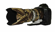 Canon 70 - 200mm f2.8  IS Mk2 Camouflage Neoprene lens protection cover : Brown