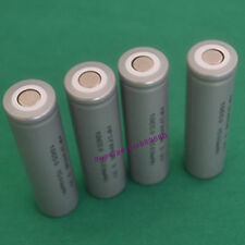 4pc lot high temperature 3.2V LiFePO4 IFR 18650 battery flat top energy type
