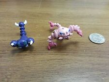 1.5~2inches pokemon plastic figure set(lot)of Skorupi Drapion
