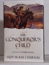 1st, signed by author, Conqueror's Child by Suzy McKee Charnas (1999)