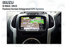 2016 ISUZU D-MAX MU-X LS-U LS-T Sat Nav GPS Navigation audio Upgrade Kit