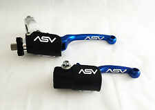 ASV F3 Blue Brake & Clutch Levers Kit Pair Pack YZ 85 / 125 / 250 / 400 / 426