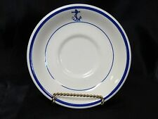 "US Navy Mess Wardroom Officer Saucer 6"" Buffalo/Oneida China"