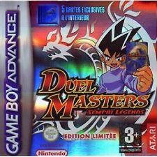 DUEL MASTERS  :  SEMPAI LEGENDS              -----   pour GAME BOY ADVANCE  ----