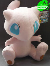 "New 20th Anniversary Edition Gamestop TAKARA TOMY Mew DX Plush12"" Pokemon Doll"
