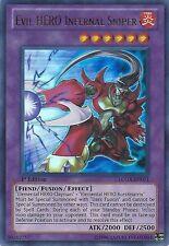 Evil Hero Budget Deck #3 - Infernal Sniper - Inferno - Yugioh - 46 Cards + Bonus