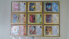 Pokemon Gym Heroes set complete 132 cards