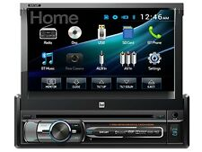 "Dual DV516BT 7"" In-Dash Flip-Out DVD/CD Car Audio Receiver +Bluetooth +USB/AUX"