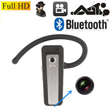 Mini DVR HD 720P H.264 Bluetooth Earphone Camera Pinhole Mini DV Video Recorder