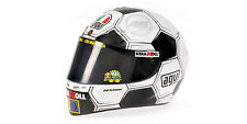 Minichamps AGV Casque valentino rossi, Moto GP 2008 Barcelone 1:2 Limited Edition