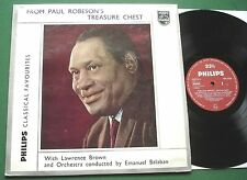 Paul Robeson Treasure Chest Lawrence Brown & Orch Emanuel Balaban GBL 5559 LP