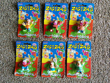 Zig and Zag - Vivid Imaginations - complete set of 6 (Mint on card) from 1994
