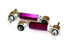 88-00 Honda Civic EJ EG EK 90-01 Integra +/- Rear Adjustable Camber Kit Purple