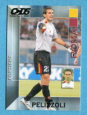 CALCIO CARDS 2005 Panini - Figurina/Sticker -n. 145 - PELIZZOLI - ROMA -New
