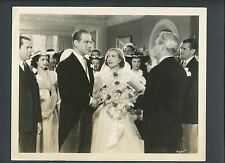 JOAN CRAWFORD + MELVYN DOUGLAS - 1938 THE SHINING HOUR - WEDDING SCENE