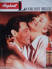 PUBLICITÉ 1998 ST RAPHAËL LA VIE EST BELLE APÉRITIF DE FRANCE - ADVERTISING