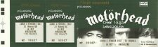 RARE / TICKET DE CONCERT LIVE - MOTORHEAD EN FRANCE 1997 / COMME NEUF LIKE NEW